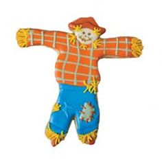 Cookie Cutter Scarecrow, Tin $3.50 http://www.fancyflours.com/product/Cookie-Cutter-Scarecrow-Tin-5/s