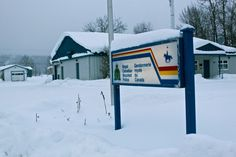 Fort Liard's RCMP station Northwest Territories, Police, Canada, Law Enforcement