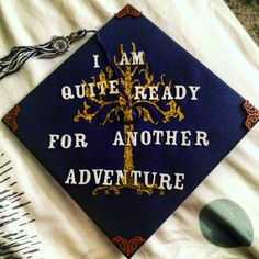 LOTR inspired graduation cap