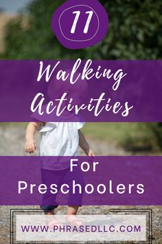 Get outside with these fun walking activities for preschoolers. You'll learn and practice basic facts such as numbers, letters and shapes in a no prep, but interesting way while being outdoors. #walkingactivities #walkingactivitiesforpreschoolers #walkingactivitiesforkids Activities For 2 Year Olds, Educational Activities For Kids, Preschool Activities, Kids Learning, Bored Kids, Preschool Projects, Stem For Kids, Blog Topics, Learning Through Play