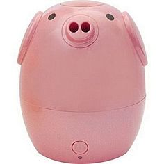 Greenair Kids Aroma Diffuser and Humidifier - Pig - Pig Child's Ultrasonic Aromatherapy Diffuser and Humidifier - Place in Kids Room or With Family When Travel - Water Bottle Adapters Included PIG DESIGN Essential Oil Diffuser Humidifier, Aroma Diffuser, Pig Kitchen, Travel Water Bottle, Essential Oils For Kids, Creature Comforts, Animal Design, Traveling By Yourself, Teacup Pigs