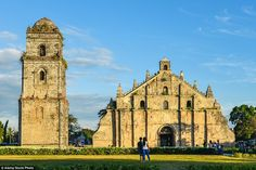 Saint Augustine Church in the Philippines combines Spanish Baroque style with…
