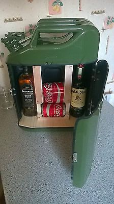 jerry can bar /mini bar/ camping / drinks carrier / stag / man cave