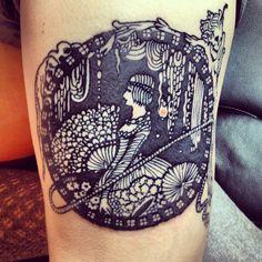 Harry Clarke  tattoo