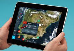 MmD #iPad #interaction #maps
