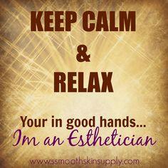 Keep Calm & Relax #esthetician #smoothskinsupply #sebrazilwax #smoothskindiva