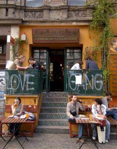 The Bohemian cafe on Kastanienallee in Prenzlauer Berg, Berlin.