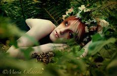 Dreaming Dryad II by mariyaolshevska.deviantart.com on @deviantART