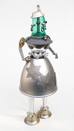 Sally Star robot sculpture | Flickr - Photo Sharing!