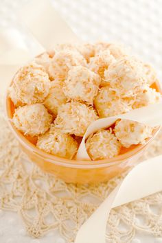 Quick Coconut Bon Bons by Paula Deen