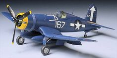 WWII Chance Vought F4U-1D Corsair Fighter Free Aircraft Paper Model Download