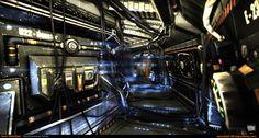Sci-Fi Corridor v.2 [UDK] by amirabd2130.deviantart.com on @deviantART
