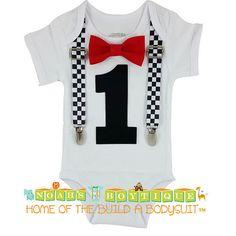 Race Car Birthday Shirt Racecar First Birthay by NoahsBoytiques