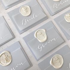 Provence inspired wedding anniversary place setting tags with white calligraphy names on . Provence inspired wedding anniversary place setting tags with white calligraphy names on . Wedding Place Settings, Wedding Cards, Diy Wedding Name Place Cards, Wedding Name Tags, Wedding Table Names, Wedding Vows, Wedding Cutlery, Diy Place Settings, Wedding Details Card