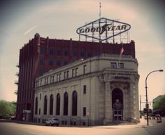Former Goodyear Tire and Rubber Company headquarters.  Akron, OH