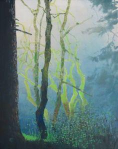 "Saatchi Art Artist Randall David Tipton; Painting, ""Rainforest Equinox"" #art"