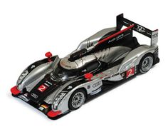IXO 1:43 Audi R18 Diecast Model Car LM2011 This Audi R18 (Le Mans Winner 2011) Diecast Model Car is Black and Silver and has working wheels and also comes in a display case. It is made by IXO and is 1:43 scale (approx. 10cm / 3.9in long). Driven by Lotterer, Treluyer and Fassler.