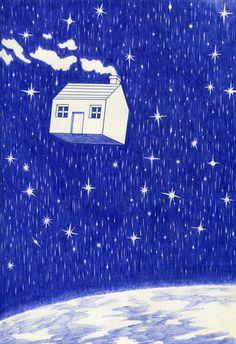 house galaxy stars