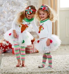 Softcomfy Toddler Kids Baby Girl Christmas Halloween Tutu Skirt Clothes Romper Jumpsuit Skirts Outfits