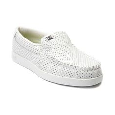 cc1add27f98 DC Shoes Villain Mens Slip On Skate Shoe In White Size 7 M Brand New In Box