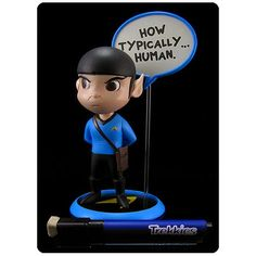 BLOG DOS BRINQUEDOS: Star Trek Trekkies Spock Q-Pop Vinyl Figure