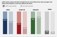 """The LGBT Undocumented: By the numbers  (slide 4 of 5)  Source: Gary Gates, """"LGBT Adult Immigrants in the United States"""" (Los Angeles: The Williams Institute, 2013)"""