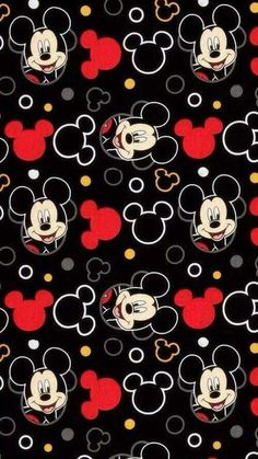 Disney Mickey Everyday Head Toss Fabric by OnlineFabricStorenet