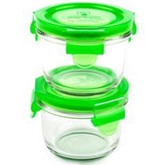 Wean Green - Glass Bowls 6oz (165ml) - Peas - 2 pk