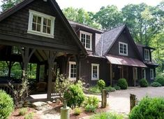 indoor paint colors Mountain Home Exterior Paint Colors Rustic Home Exteriors Of Exemplary Rustic Mountain House Exterior Photos Best Exterior House Paint, Log Homes Exterior, Rustic Houses Exterior, Mountain Home Exterior, Cottage Exterior, Exterior Paint Colors, Exterior House Colors, Mountain Homes, Exterior Design