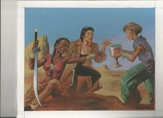 Magic Art of the Day - Dehydration by Val Mayerik - Check out the owner's gallery here: