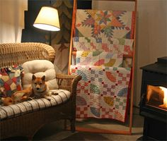 Like the quilt rack for displaying in a room