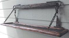 chain shelf hanging - Hledat Googlem   Bistro Shelves Ideas ...