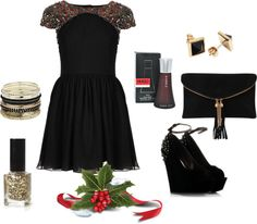 """holiday outfit"" by michellebos1 on Polyvore"