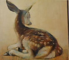 By Mark Adlington Oh Deer, Oil On Canvas, Moose Art, Old Things, Fine Art, Artist, Artwork, Painting, Animals