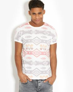 Influence  Aztec T-Shirt - BANK Fashion