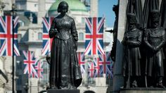A statue to Florence Nightingale - part of the Crimean War Memorial in St James's, London Crimean War, Florence Nightingale, Kingdom Of Great Britain, French Empire, Imperial Russia, Saint James, Great Women, Great British, Black Sea