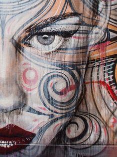 RONE in Sydney, Australia - Street art