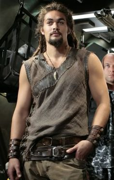 Ronon was Bucky before Bucky was cool