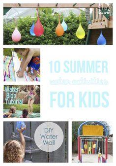 10 summer water activities for kids