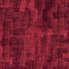 """18 Yards in Stock - 108"""" Wide - Andover Fabrics - Brushline Red Wideback Backing Fabric by Kim Schaefer - 100% Cotton - AW-8680-R"""