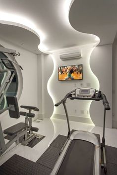 Casa Buriti: Fitness translation missing: br.style.fitness.moderno por Arquiteto Aquiles Nícolas Kílaris