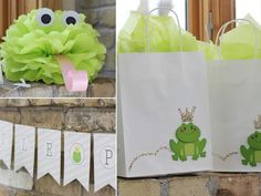 frog prince party ideas | baby shower :: frog prince - a creative buzz | Kids Party Ideas