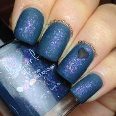 "Lacquer Lust ""Fashionably Late"" matte http://www.polishandpandas.com/2014/02/lacquer-lust-swatches-review.html#more"