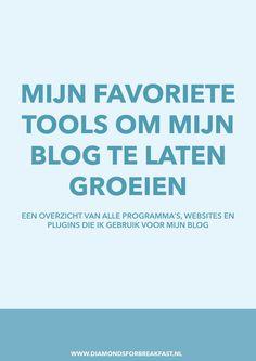 Wil je je blog laten groeien? Wil je efficiënter bloggen? Dat kan, zolang je maar de juiste tools gebruikt! Hier vind je een overzicht van alle programma's en websites etc. die ik gebruik om mijn blog te laten groeien.