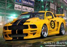 Mustang by Night - Ford Wallpaper ID 247201 - Desktop Nexus Cars