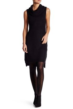 Brandy Cowl Neck Sleeveless Sweater Dress