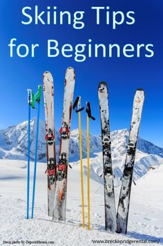 how to choose skis for beginners