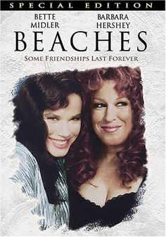 When the irrepressible C.C. Bloom (Bette Midler) and the shy and proper Hillary Whitney (Barbara Hershey) first meet under the boardwalk at the beach, all the 11-year-olds have in common is the need for a best friend. Their friendship ebbs and flows through a lifetime of highs and lows, career changes, marriages, jealousy, and more. From the boardwalk in Atlantic City to the beach house on the Pacific, BEACHES will remind you of what being a true friend means.