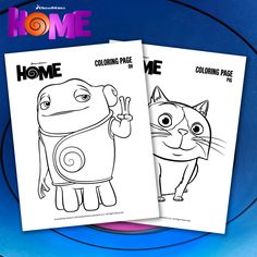 Download Free HOME Coloring Pages