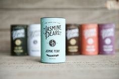 Jasmine Pearl Tea Packaging